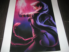 PSYLOCKE Sideshow Premium Print Lithograph #33 SIGNED