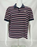 Lacoste Men's Short Sleeve Polo Shirt  Multicolor Size 6