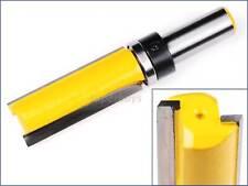 """19mm x 50mm Top Bearing 1/2"""" Shank Straight Router Bit Cutter Wood Edge Flush"""