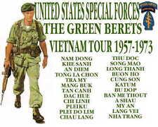 Green Berets Vietnam concert tshirt