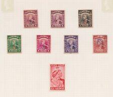 (K144-40) 1934-48 Sarawak Mix of 8stamps values to 10c (AN)