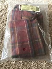 New Longaberger fabric basket liner Carry-N-Caddy #23211268 Tobosco Plaid 6Bb