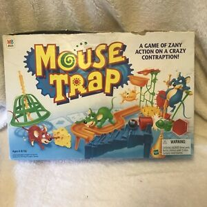 1994 Mouse Trap Board Game Milton Bradley  Cheese Original