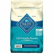Blue Buffalo Fish and Oatmeal Large Breed Dry Dog Food, 30-lb