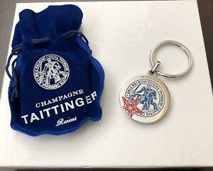 TAITTINGER Champagne RUSSIA  FIFA WORLD CUP 2018 KEY RING BN SPECIAL EDITION