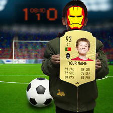 Personalised Rare Gold Fut Card Fifa20 Ultimate Team Acrylic Board Gift for Boys