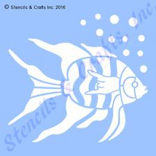"10.5"" FISH STENCIL BIG TEMPLATE NAUTICAL MARINE OCEAN SEA BACKGROUND PAINT NEW"