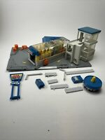 MICRO MACHINES - CAR WASH CITY Playset - Galoob 1989 - See Description