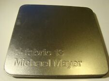 RAR CD. MICHAEL MAYER. FABRIC 13. METAL BOX