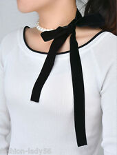 New Fashion White Artificial Pearls Long Chain Charms Sweater Velvet Necklace