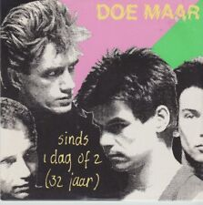 DOE MAAR Sinds 1 Dag of 2 (32 Jaar) 2 track CARDslv CD SINGLE
