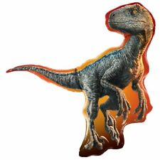 Jurassic World Party Velociraptor Supershape Foil Balloon 97cm