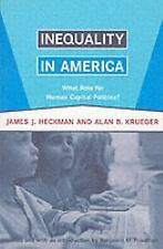 Inequality in America: What Role for Human Capital Policies? (Alvin Hansen Symp