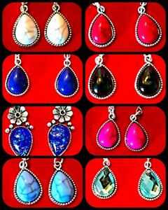 Teardrop & Heart Earrings ~ 12 Variations ~ **From Only £2.75** ~ FREE UK Post