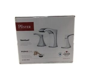 Pfister Venturi 8 in. Widespread 2-Handle Bathroom Faucet in Polished Chrome