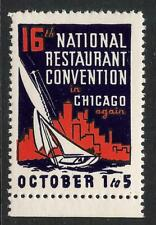 National Restaurant Convention - Chicago - Sailboat - City