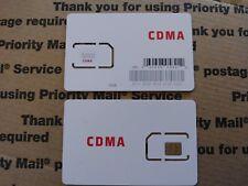 Fits Verizon Lg K4 - Red Pocket Sim Card 4G Lte Cdma