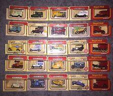Lledo Days Gone Joblot Of 25 Model Delivery Vans & Cars Coca-Cola,Ford,Esso Etc