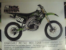 Factory Effex Metal Mulisha Shroud Kit - 09-11 KX450F