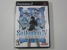 Suikoden IV 4 Sony PlayStation 2 PS2