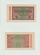 20.000 Mark 1923 U-MV Deutsches Reich - Reichsbanknote - 0240