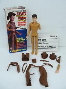 1960's MARX JOHNNY WEST SERIES JAMIE WEST COWBOY WESTERN ACTION FIGURE BOXED