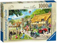 Ravensburger Jigsaw Puzzle SUMMER VILLAGE - Nostalgic Puzzle - 1000 Piece