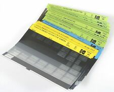 KODAK MICROFICHE, SET OF 30+ FOR CAROUSEL, MOVIE PROJECTORS AND POCKET CAMERAS
