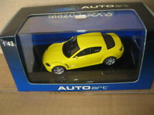 AUTOart 1.43 MAZDA RX-8 LIGHTING YELLOW AWESOME LOOKING CAR OLD SHOP STOCK