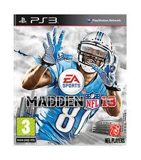 Madden NFL 13 (Sony PlayStation 3, 2012) E0269