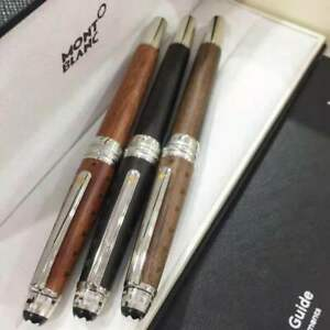 Luxury MB Meisterstuck 163 Limited Edition Sandalwood Rollerball Pen With Box