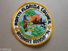 North Florida Council '74 BSA Woven Cloth Patch Badge Boy Scouts Scouting