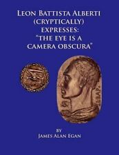 """Leon Battista Alberti Expresses : """"The Eye Is a Camera Obscura"""" by James Alan..."""