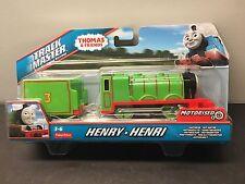 Thomas & Friends Trackmaster Henry Motorized Railway BML10 Green Engine New