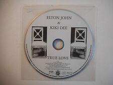 ELTON JOHN & KIKI DEE : TRUE LOVE ♦ CD SINGLE PORT GRATUIT ♦
