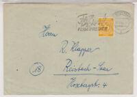 All.Bes./Gemeinsch.Ausg.Mi. 927 EF Stuttgart 11.4.48, Vorkriegs-MWS