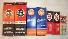 Vintage Vacuum Tubes Rca Ge Cbs lot