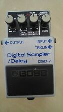 Pédale d'effet BOSS Digital Sampler Delay DSD 2 Made in Japan - Très bon état