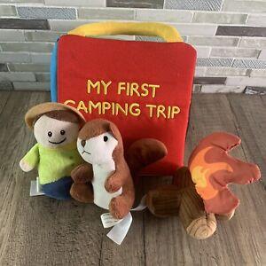 My First Camping Trip babies talk  interactive playset  Bass Pro Shop Plush