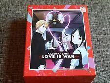 KAGUYA-SAMA - LOVE IS WAR Vol. 1 Limited Blu-Ray Digipack w Slip-Box Schuber
