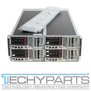 Supermicro FatTwin F627G3-FT+ 4U 4-Node 8-Bay LFF GPU Server X9DRFF-iG+ CTO
