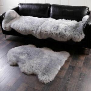 60X90cm Soft Fluffy Faux Fur Fake Wool Sheepskin Rugs Warm Hairy Carpet Seat Pad