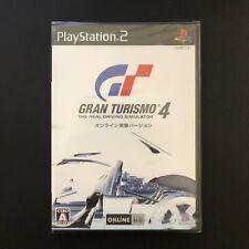 Gran Turismo 4 Online Test Version Japan - Brand New - Factory Sealed