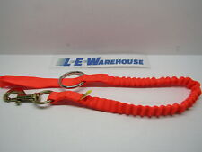 Weaver Leather Arborist Lineman Bungee Chainsaw Strap W/ Snap And Ring 08-98225