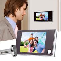 "3.5"" Digital Peephole Viewer Door Eye Doorbell Video Camera Motion Detector 120°"