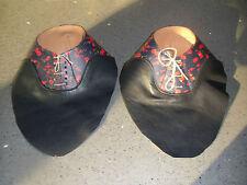 Leather Shoe Uppers Semi Finished Ladies Student Shoe Making Shoemaker Cobbler
