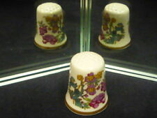 Franklin Mint Johnson Bros World's Greatest Porcelain Houses Ironstone Thimble