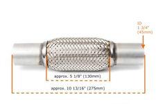 Universal Flexrohr Flexstück 130mm Flammrohr Hosenrohr Auspuff Rohr 45x275mm_O_