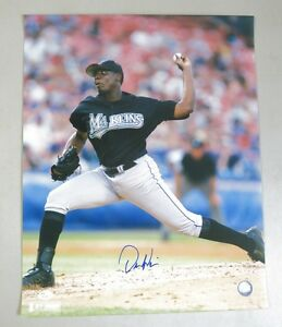 Dontrelle Willis Signed 16x20 Photo AUTO Autograph JSA COA Florida Marlins