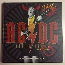 AC DC DIRTY DEEDS BY JEFF PERKINS SPECIAL ÉDITION 4 DVD AND BOOK